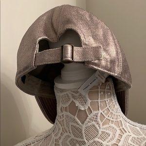 J. Crew Accessories - Jcrew Silver Hat